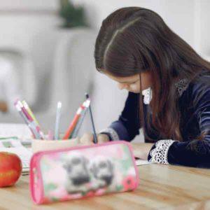 Maedchen aus Boppard verbessert Noten mit Hausaufgaben Nachhilfe
