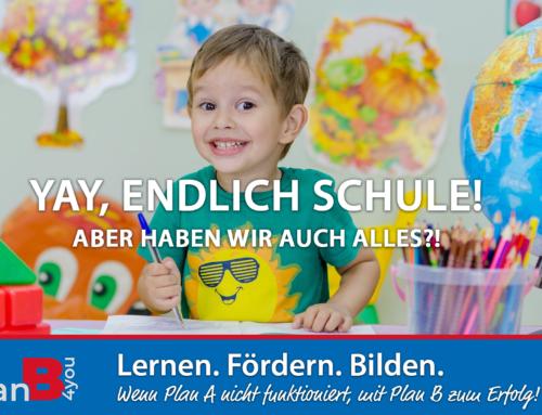 Erster Schultag – unsere Checkliste für Sie