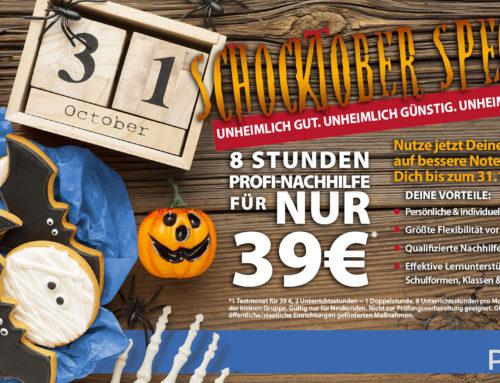 Schocktober Special: 8 Stunden nur 39€!