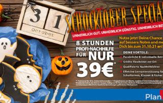 Oktober Angebot von PlanB Boppard Nastätten